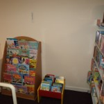 The Library has a section for Children - most of the books are new in!